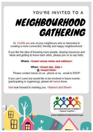 Neighbour gathering